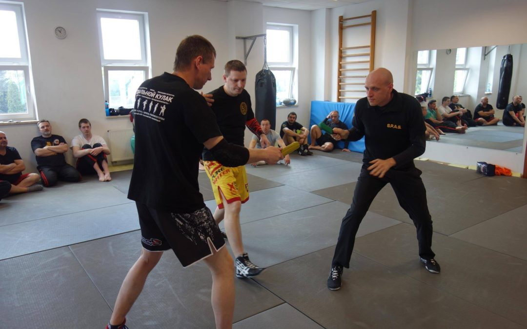 S.P.A.S. sport knife fighting seminar in Poland